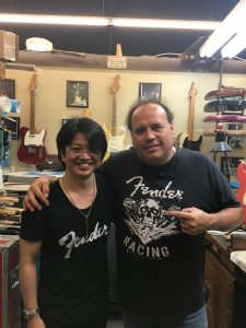 082 225x300 - Meet the Master Builders @ Fender Custom Shop