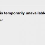 temporarilyunavailable 150x150 - Macintosh初期化時、Apple ID認証時エラー