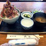 アジたっぷり満足の鯵丼@磯辺 東伊豆町