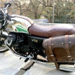 IMG 4541 150x150 - Moto Guzzi V7 Ⅲ Anniversarioにデグナー製サイドバッグ装備!