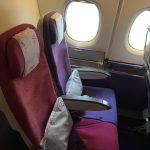 IMG 7229 150x150 - タイ航空A380:2階2-4-2の窓側エコノミー席の特別感!